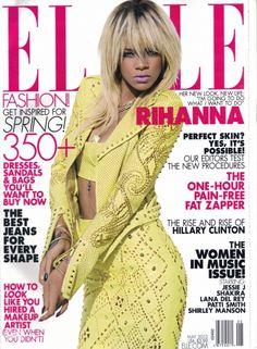 Rihanna couv ELLE de mai 2012