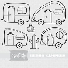 camper lineart - Google Search