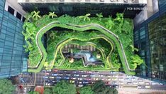 Singapore architecture: green spaces in the sky Architecture Concept Diagram, Architecture Presentation Board, Architecture Sketchbook, Architecture Wallpaper, Singapore Architecture, Architecture Student, Architecture Plan, Landscape Architecture, Biophilic Architecture