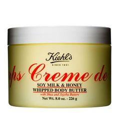 Kiehl's Creme de Corps Soy Milk & Honey Whipped Body Butter - 226g/8oz