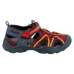 M.A.P. Boys' Emmons Camping Fisherman Sandals - Black/Blue 5, Toddler Boy's