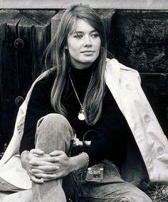 Francoise Hardy - 1966: Fashionably Laidback from #InStyle