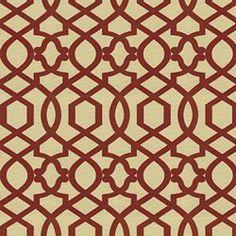 SULTANA LATTICE - IMAN HOME FABRICS AMARYLLIS - Red - Shop By Color - Fabric - Calico Corners