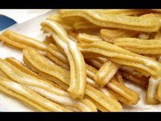 Receta churros caseros http://www.recetasdepasteles.net/receta-de-churros-caseros/ Nuestro facebook: https://www.facebook.com/recetaspasteles Ingredientes (c...