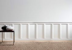 This signature collection of panel moulding was designed to complement Orac Decor's full line of crown moulding, providing a seamless look for your latest project. Panel Moulding, Wall Molding, Contemporary Doors, Contemporary Style, Wooden Panelling, Wall Panelling, Orac Decor, Wall Trim, Modern Houses