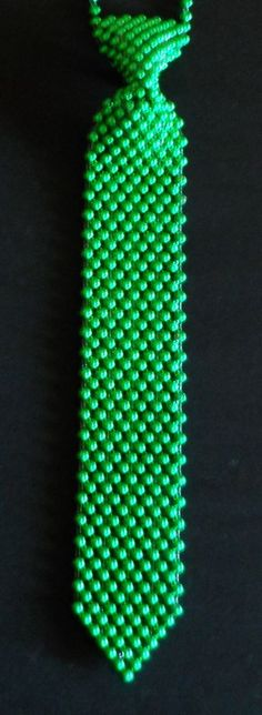 Bead Neck Tie Mens Womens St Partrick's Day Whimsical Party Irish Leprechaun #NeckTie