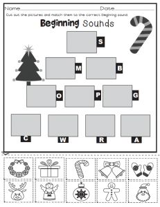 Freebie! Beginning Sounds
