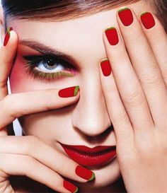 #Red #nailart is one of the most fascinating colors to accentuate your #nails. Many #fashion gurus and #celebrities chose this brilliant color to create appealing #manicures and #pedicures. However, putting on #normalcolor to complement with the #dress can be quite boring....