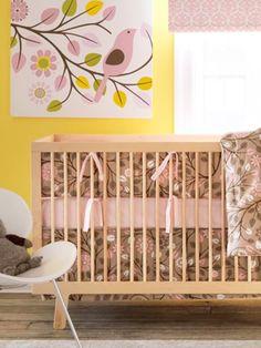 Baby Girl Nurseries - Nursery Ideas - Slideshow dwellstudio.com