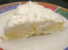 Hawaiian Pie Recipe - A Pina Colada in the form of a pie. Oh Yeah!!