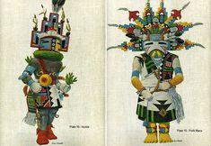 Portfolio of Hopi Kachinas  Homer Boelter, a skilled wood engraver and a master of the lithographic processes