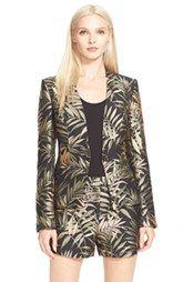 Ted Baker London 'Zakia' Palm Print Jacquard Suit Jacket