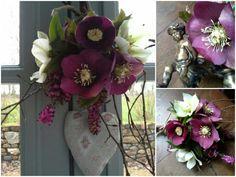 Une fleur en hiver au Manoir de la Villeneuve Villeneuve, Floral Wreath, Wreaths, Home Decor, The Mansion, Winter, Flowers, Floral Crown, Decoration Home