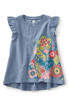 Tea Collection Trapeze Top (Toddler Girls 8464fc90a04