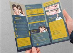 Dental Services Trifold Brochure Template