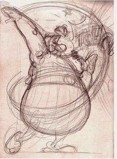 Albert Uderzo Comic Books Art, Comic Art, Book Art, Animation Sketches, Art Drawings Sketches, Asterix E Obelix, Albert Uderzo, Bilal, Game Design