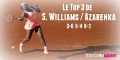 5/30/15 World #1 Serena Williams' 3-6, 6-4, 6-2 victory over Victoria Azarenka on Saturday propels her to the fourth round at #RolandGarros. Rena improves to 16-3 H2H  with a 9-0 record v Vika in Grand Slam tournaments. #RenasArmy <3