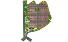 Township Master Plan CAD Drawing DWG File - Cadbull Architecture Mapping, City Architecture, Central City, Cad Drawing, Master Plan, Urban Planning, Plan Design, Autocad, Designs To Draw