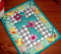 Looking for your next project? You're going to love Easter Cross Mug Rug by designer The Patchsmith.