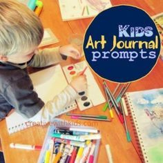 Thumbnail image for Fun Way to Get Started on Art Journals & Laugh Journal Prompts