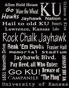 Rock Chalk Jayhawk, Go KU!