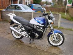 My first GSX1400 by Suzuki, great bike comfortable and effortless.