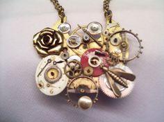 steam punk necklace