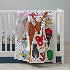 Charley Harper Florida Keys Crib Bedding