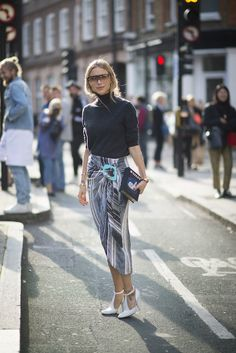 Street Style at London Fashion Week S/S 2016