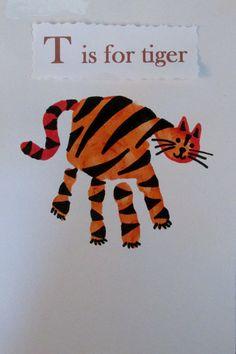 Tiger handprint