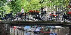 Amsterdam é mesmo uma linda cidade ! #viagem #turismo