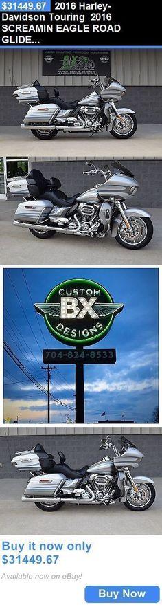 Motorcycles: 2016 Harley-Davidson Touring 2016 Screamin Eagle Road Glide Ultra Cvo *Stunning** 1-Owner!! Save $$ BUY IT NOW ONLY: $31449.67 #harleydavidsonroadkingcvo #harleydavidsonroadglide2016 #harleydavidsonroadglideultra #harleydavidsonroadglidecvo