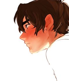 """he touches the back of his neck a lot after lance cuts The Mullet (lance won't stop saying """"good riddance"""")"""