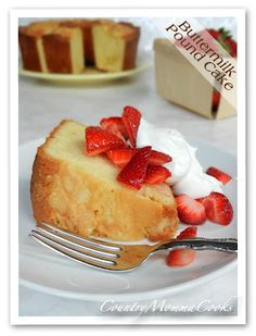 Country Momma Cooks: Buttermilk Pound Cake