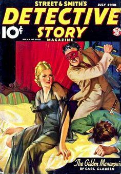 Detective Story Magazine - July 1938
