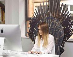 Game of Thrones - Transforme qualquer cadeira no Trono de Ferro! - Garotas Nerds