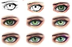 eye step by step by ryky on DeviantArt