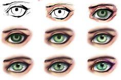 eye step by step by ryky.deviantart.com on @DeviantArt
