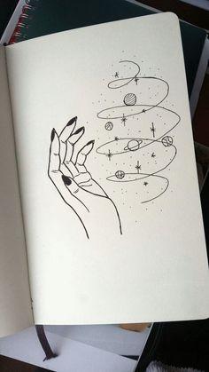 Magic universe leticia board в 2019 г. art drawings, art sketches и pencil Space Drawings, Cool Art Drawings, Pencil Art Drawings, Doodle Drawings, Art Drawings Sketches, Easy Drawings, Disney Drawings, Cute Drawings Tumblr, Tattoo Sketches