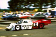 1985 Porsche 956 B Porsche cc.) (T) Jo Gartner David Hobbs Guy Edwards Porsche 956, David Hobbs, Le Mans, Race Cars, Racing, Guys, History, American, Vehicles