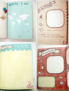 owl TRAVEL JOURNAL  cute travel diary by by boygirlparty on Etsy, $17.00