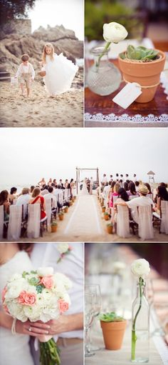 Puerto Vallarta Wedding by The Dazzling Details at Villa Celeste @Stephanie Thornton - she even has a lacey-burlap theme!