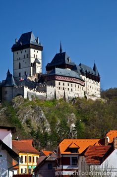 Karlstejn Castle in Czech Republic (Photo collection by Czech Tourism agency). Follow new trends in #hotel #rooms #reservations. In #auction #demand. Be smart - play and save money with PrimaHotels.Com