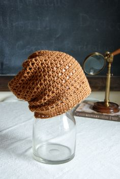 Boys Slouchy Beanie. Children & Toddler Boy Hat. Cotton Hat Honey by AnExtraBlessing on Etsy