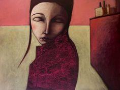 Evelina Oliveira -  Pintura - Artodyssey Nasceu em Abrantes, em 1961. Vive no Porto. Frequentou o curso de Desenho na ESAP, o curso de História da Arte no Museu Soares dos Reis e o curso de Litografia da Árvore. Participou em numerosas exposições tanto em Portugal como no estrangeiro.