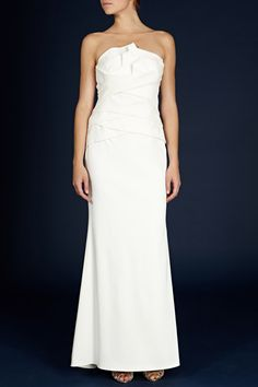 Lyra bridal maxi dress