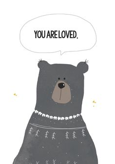 You are loved via catita Illustrations . Click on the image to see more!