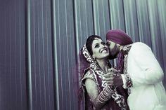 Indian wedding photography. Couple photo shoot ideas. Indian Wedding Couple, Indian Bride And Groom, Sikh Wedding, Wedding Couples, Wedding Ceremony, Wedding Dresses, Marriage Goals, Indian Wedding Photography, Portrait Photo