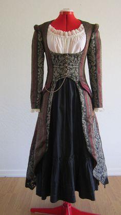 Women's Steampunk Cutaway Coat. $95.00, via Etsy.