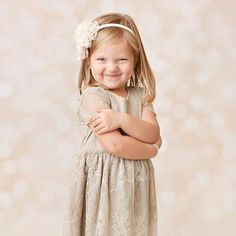 Photography Backdrop - Photo Background | Creamy Gold Bokeh